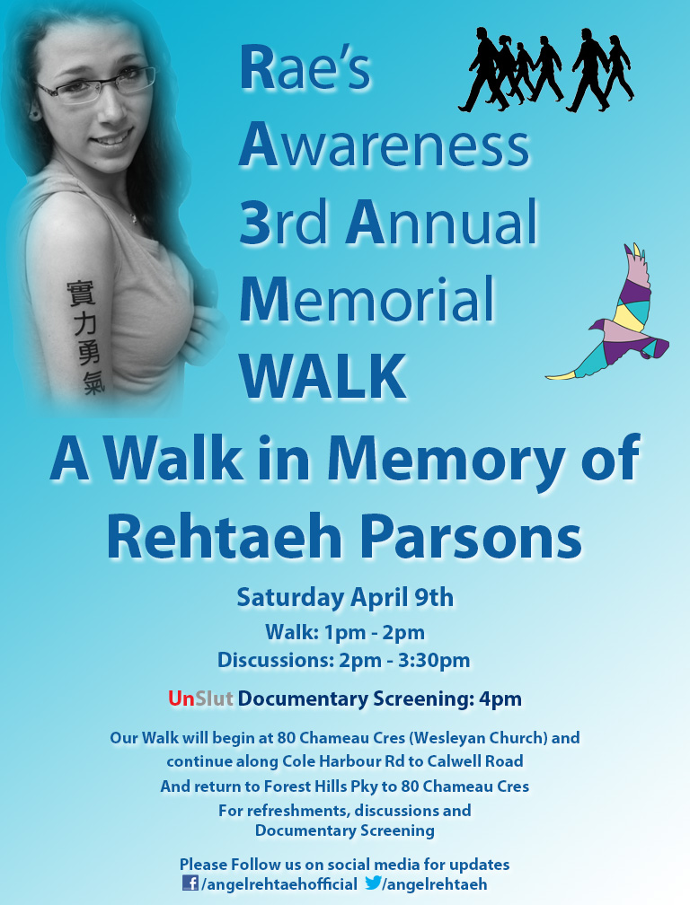 Rae's Awareness Walk