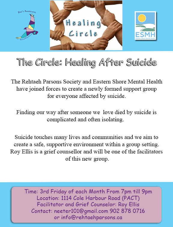 Support Group for Survivors of Suicide Loss